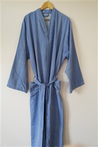 Bathrobe - Rug Colleciton - Herringbone blue