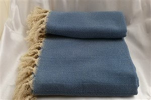 Cotton Clothes - Rug Colleciton - Light Blue - Herringbone