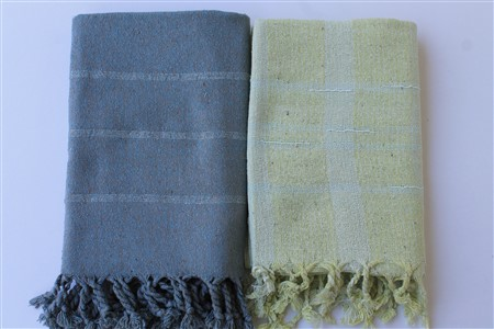 Silk Products - Silk Collection - Raw silk scarf