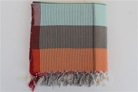 Peshtemal - Rug Colleciton - Red Striped pattern - colored