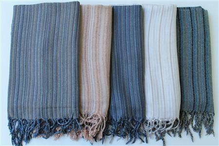 Silk Products - Silk Collection - Thrown silk scarfs - 2